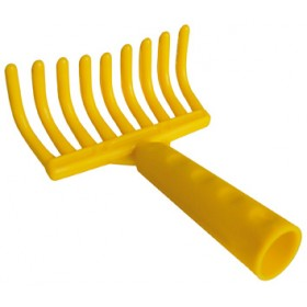 PLASTIC RAKE 9 TEETH FOR OLIVES PERFORATED