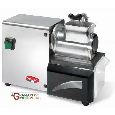 REBER ELECTRIC GRATER N.3 IN POLISHED ALUMINUM WITH STAINLESS